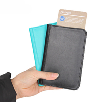 13597C Soft Leather Passport Holder