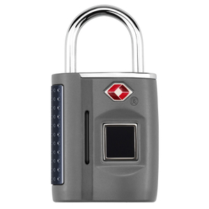 16338 Outdoor Security Portable Smart Fingerprint Padlock TSA Fingerprint Lock for Luggage