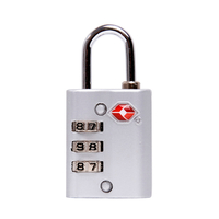 13005 Promotional Combination Padlock Zinc Alloy TSA Approved 3 Digit Luggage Lock