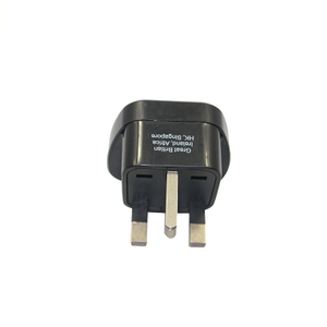 13657G Travel 250v To 110v Plug Adapter with 3 Pin Adaptor Plug