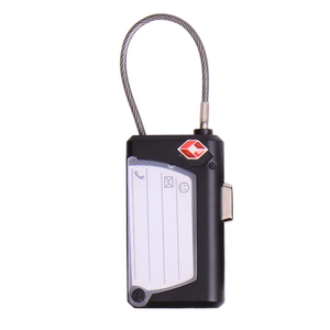 13326 TSA 3 Digital Combination Cable Lock with Business Card Holder