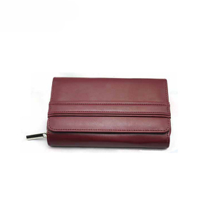 13599 PU Women Card Wallet with Advanced RFID Secure