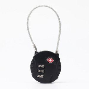 13321B Hot Sale TSA 3-dial Travel Cable Lock