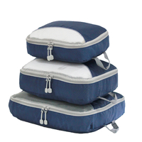 13564A Luggage Storage 3 Pieces High Quality Travel Organizer Packing Cube Sets