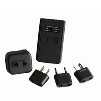 13691 Travel Voltage Converter And Adapter Kit with Pouch