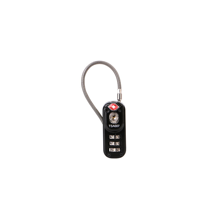 13322 Small TSA Combination Cable Lock for Suitcase