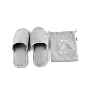 16302 Cotton Fabric Foldable Slippers