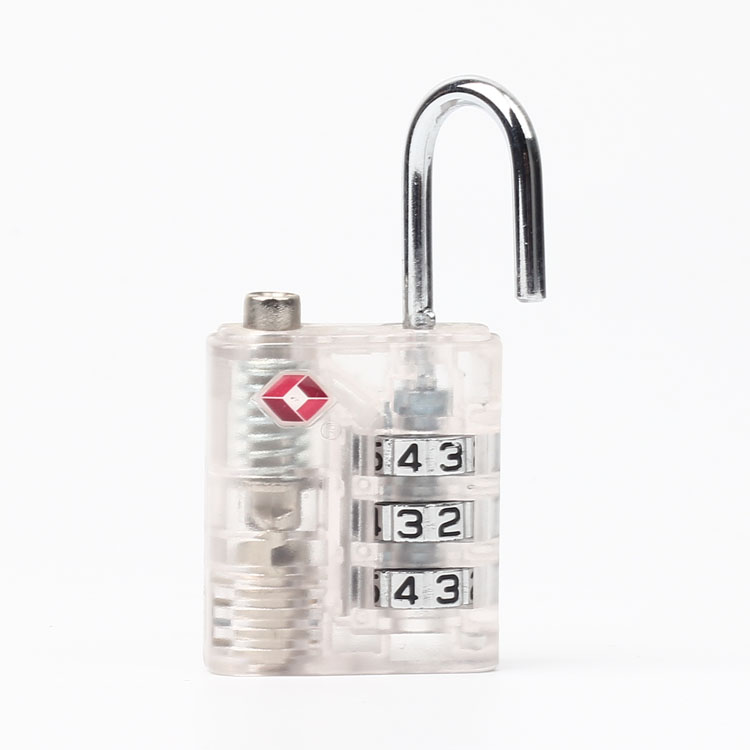 13332B ABS 3 Digital Combination Security Lock for Suitcase