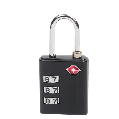 13005B 3 Digital Combination Lock TSA Luggage Padlock