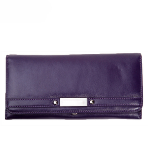 13589 Perfect Design PU Women Wallet with Advanced RFID Secure