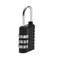 13005E Cheap Zinc Alloy 3 Dial Luggage Combination Lock